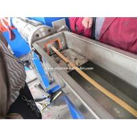 Quality 380V 3 Phase Plastic Profile Extruder Machinery for PVC Edge Band for sale