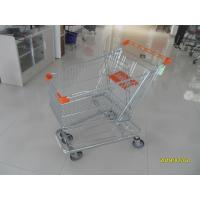 Quality 125L Supermarket Shopping Trolley With 4 Swivel Flat Casters  941 X 562 X 1001mm for sale