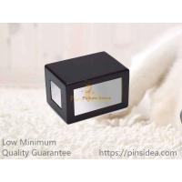 Quality Good Quality Traditional Matte Black MDF Wooden Pet Urns for Dogs and Cats, Small Order, Quality Guarantee for sale