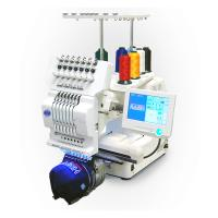 China Commercial Single Head Computer Embroidery Machine For Cap / T - Shirt / Flat Embroidery on sale
