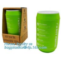 Quality Coffee cup, PLA compostable cups, water cup, compostable cupcake coffee, disposable coffee cup for sale