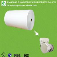Quality poly coated paper cup raw materials for sale