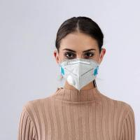 Quality PP2 KN95 folding face mask with breathing valve,Respirator anti air pollution ,coronavirus,covid-19 virus protection for sale