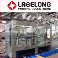 Buy cheap Automatic Drinking Water Filling Machine , PET Bottle Filling Machine Stainless from wholesalers