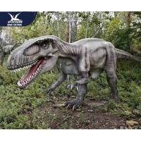 Quality Theme Park Robotic Life Size Realistic Dinosaur Models With 12 Months Warranty for sale