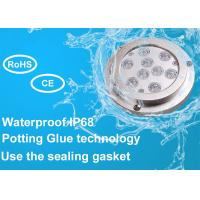 China IP68 Waterproof 316 Stainless Steel Underwater Boat Led Light for Marine Yacht on sale