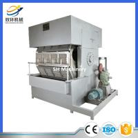 Quality recycling waste paper from China factory paper making machine egg tray carton 7000 pcs/hour for sale