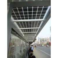 China BIPV Solar Module Customize Doulbe Glasses solar panel Solar Bus Station wholesale