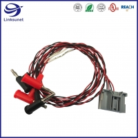 Quality Servo Driver Wire Harness with 1007 24AWG Cable add 34729 2.54mm Connectors for sale