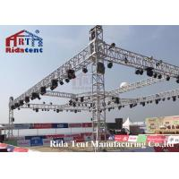 Quality Line Array Stage LightTruss Systems 6082-T6 Aluminum Alloy High Hardness for sale