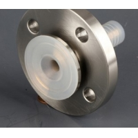 China 150LB SS304 PFA Lined ANSI Lap Joint Swivel Flange Pipe Fitting on sale