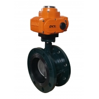 Quality Zero Leakage ASME Class 150 DN50 Electric Butterfly Valve for sale