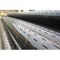 Buy cheap K55 Slotted screen casing pipes for oil well drilling from wholesalers