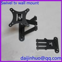Quality LCD TV Wall Mount Bracket with Full Motion Swing Out Tilt and Swivel Articulating Arm for sale