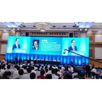 China RGB video led display for logo/brand advertising indoor led screens rental stage on sale