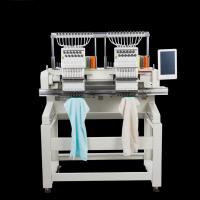 China High Precision Computerized Double Head Embroidery Machine With 15 Needles on sale