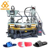 Rotary Three Color PVC straps Making Machine For slippers
