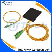 Quality ABS Box 1*2 PLC Fiber Optic Coupler with SC/APC connector for FTTH for sale