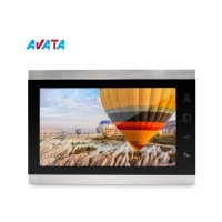 Quality 10 Inch Big Touch Screen Video Intercom Video Door Phone Doorbell Video Doorbell for sale