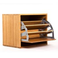 Quality China Bamboo Shoes Cabinet Rack Shelf for Outdoor, Living Room, Bedding Room, Hotel for sale