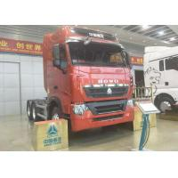 Quality Euro 2 Emission HOWO 6x4 Tractor Truck , 420HP Engine Truck Tractor Head for sale