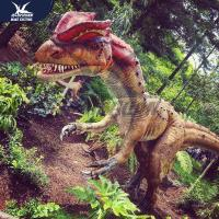 China Playground Customized Realistic Dinosaur Models / Dinosaur Yard Decorations on sale