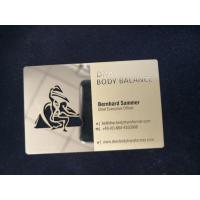 Buy cheap ISO CR-80 Standard Business Gold Card With 4 Color Offset Printing Embossing from wholesalers