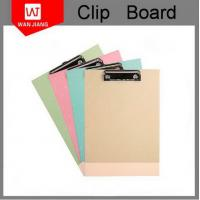 Buy China professional factory OEM office stationery Metal PP plastic clip board at wholesale prices