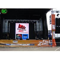 Buy IP65 Rgb Smd / Dip Video Led Column Display,10mm Led Screen For Outdoor Advertising at wholesale prices