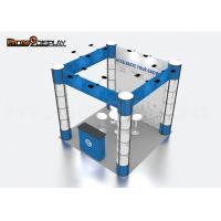 Quality 3*3M Square Style Trade Show Exhibit Booths Custom Color For Advertising for sale