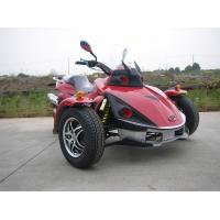 Quality Racing Red Tricycle Motorcycle ATV 250CC Single Cylinder With Chain Drive for sale