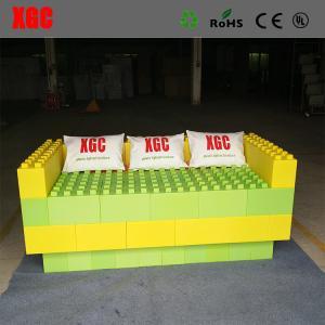 China 5 Color Children'S Building Blocks / Amusement Park Equipment Water Resistance on sale