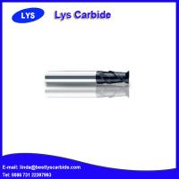 Quality 2-flute flattened end mills with straight shank for sale