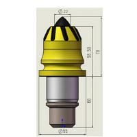 Quality Bullet Teeth for Rocking DrillingHolders for Drilling Cutter Pick for sale
