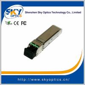 10Gb/s SFP+ Module 1470nm~1610nm 10G CWDM SFP 80km Transceiver
