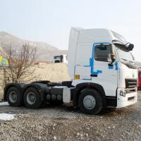 Quality RHD 420 HP Prime Mover Truck / Sinotruk Howo Tractor 6x4 With 3.5 Inch King Pin for sale