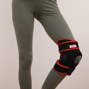Quality Adjustable Neoprene 58cm Length Knee Support Brace For Helping Meniscus Pain for sale