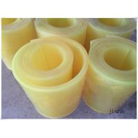 Quality 80 Shore A Polyurethane Rubber Sheet Natural Color PU Sheet Solvent Resistance for sale