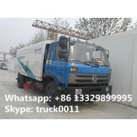 China dongfeng 145 road sweewer truck for sale(2.5cbm water tank+6cbm wastes van), hot sale 4*2 8.5m3 street sweeping vehicle on sale