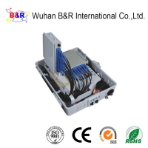 Quality IP65 Enclosed 16 Ports Optical Fiber Termination Box for sale