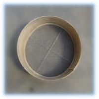 Buy cheap Wooden flour sieve, fine screen mesh 16-20 meshes from wholesalers