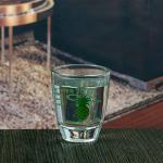 Quality 1.5oz 45ml personalized decal mini wine glass shot glass for sale