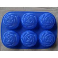 Quality silcone cake mould with flower shape for sale