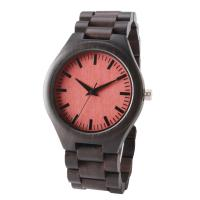 China Quartz Movement Wooden Wrist Watch , Waterproof Wood Watch Ce Rohs Approved on sale