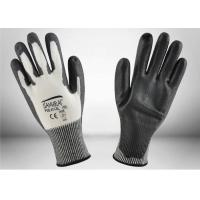 China Non Toxic PU Coated Cut Resistant Gloves Machine Washable High Durability on sale
