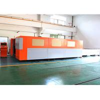 Fiber industrial laser cutting machine , Precision metal cutting equipment