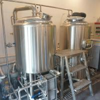 China Mini used home Beer brewery equipment for sale /Red Copper Brewhouse on sale