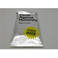 Quality 53g Cards Against Humanity Expansion Packs Intellectual Development Style for sale
