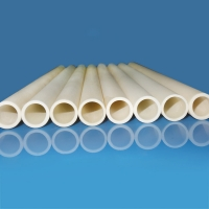 China Large Diameter Al2O3 Alsint High Alumina Ceramic Tube For Furnace on sale