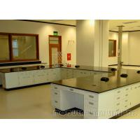 China Adjustable Design School Laboratory Furniture With C - Type Stainless Steel Handle on sale